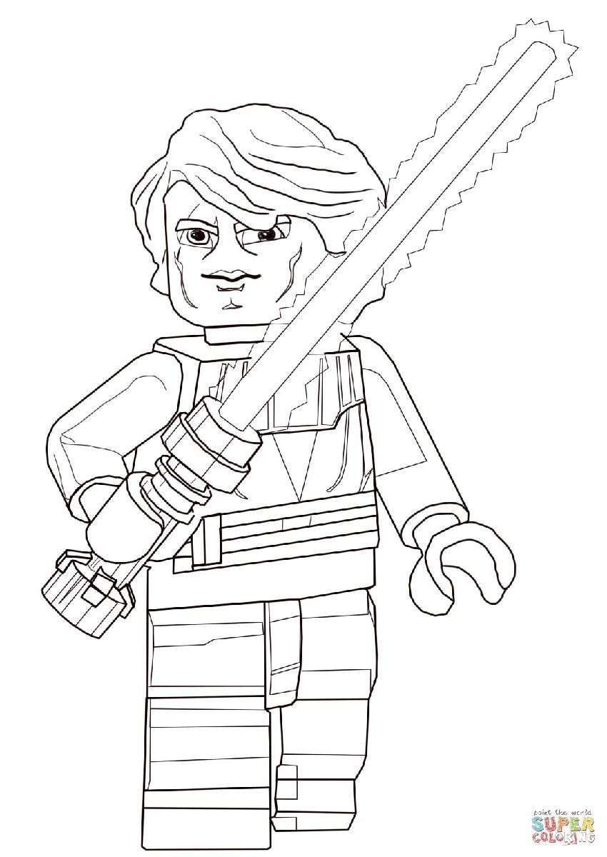 850x1200 Shocking Anakin Coloring Page Pict For Luke Skywalker Ideas