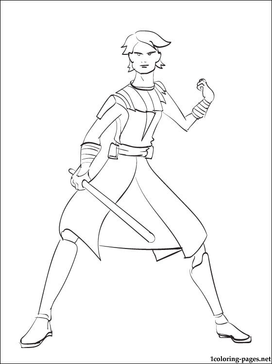 560x750 Star Wars Anakin Skywalker Printable Page Coloring Pages
