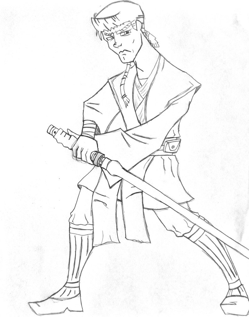793x1008 Anakin Skywalker Coloring Page Free Download