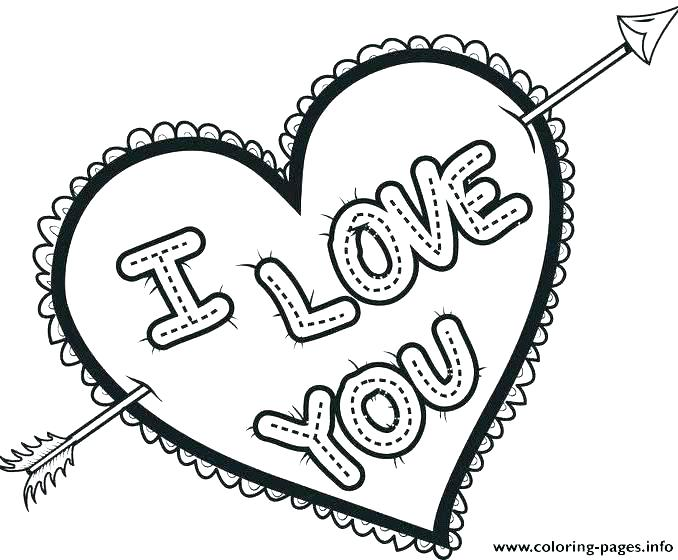 678x560 Heart Coloring Page Coloring Page Of A Heart Coloring Sheets