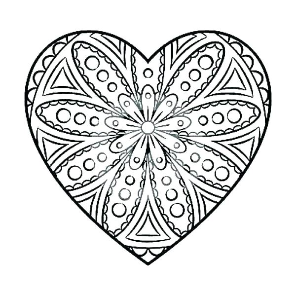 600x600 Heart Coloring Page Human Heart Coloring Pages Circulatory System