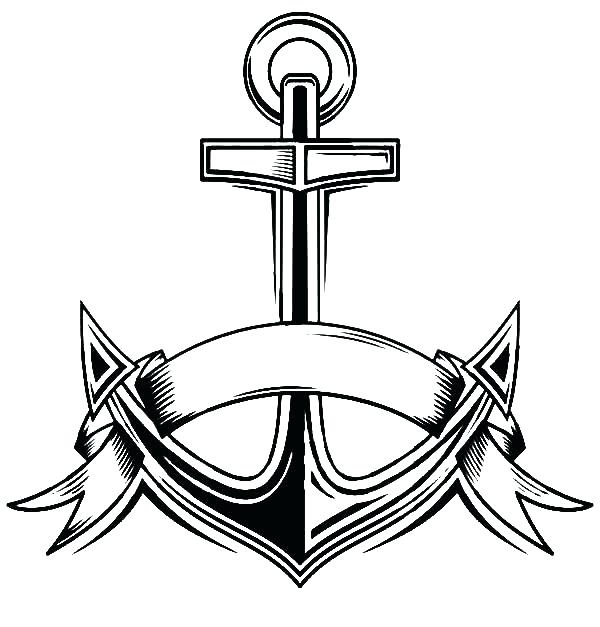 600x627 Navy Coloring Pages Navy Coloring Pages Navy Anchor Coloring Pages