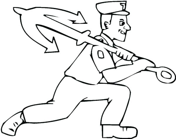 600x474 Navy Coloring Pages Unique Navy Sailor Coloring Pages For Anchor