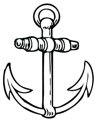 306x400 Anchor Coloring Page Anchor Coloring Page More Anchor Coloring
