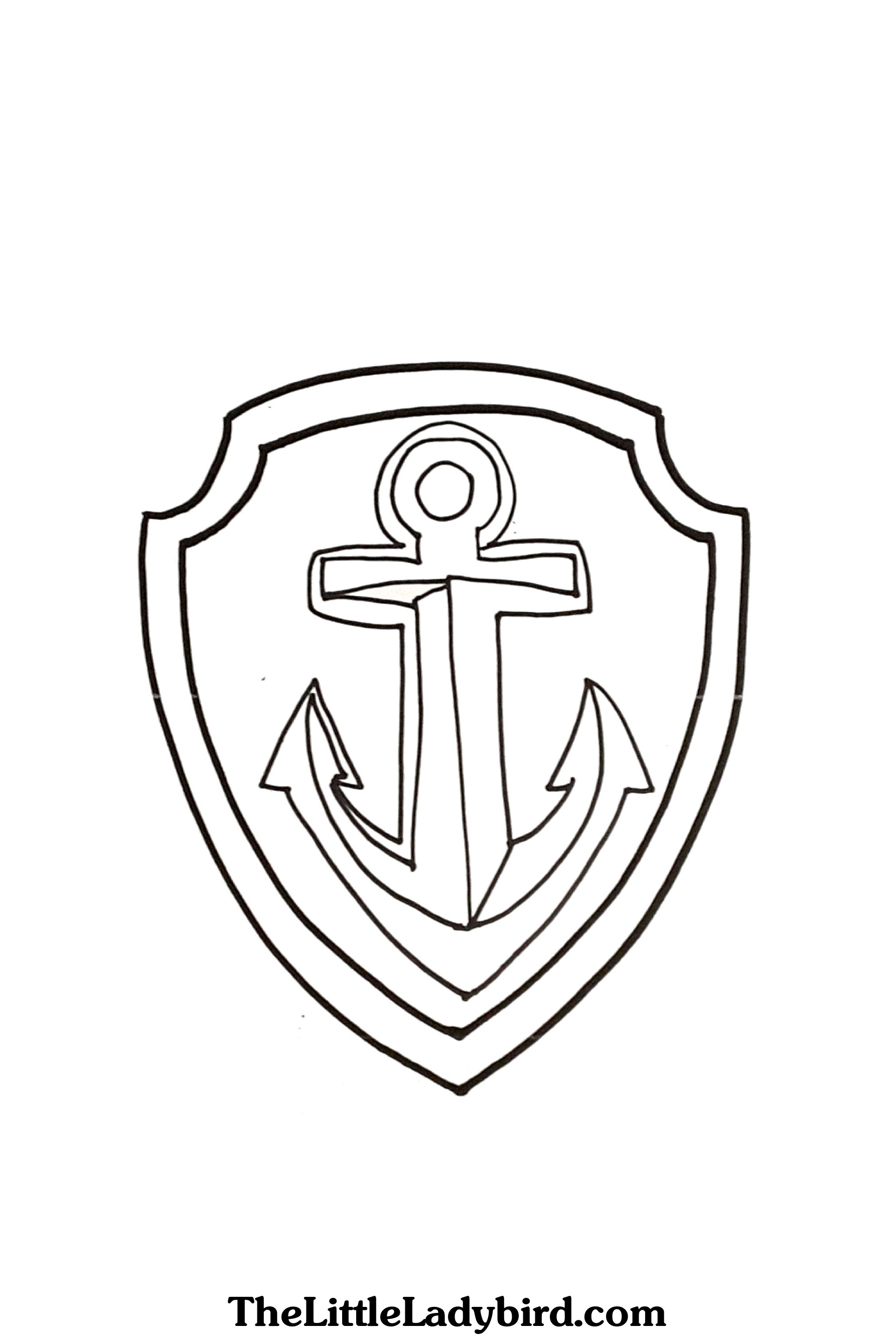 1786x2666 Anchor Coloring Page
