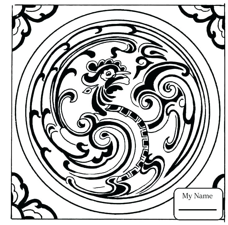 734x726 Anchor Coloring Page Drawn Anchor Coloring Pages Free Anchor