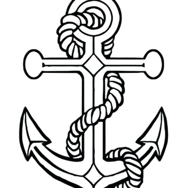 600x600 Anchor Coloring Page Free Coloring Pages Coloring Pages Anchor