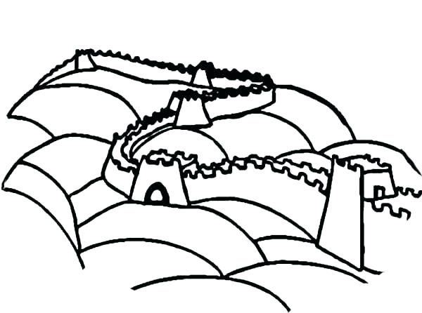 600x446 Ancient China Coloring Pages Ancient China Coloring Pages China