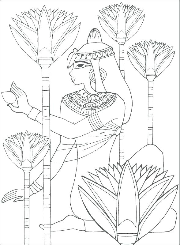 588x800 Ancient Egypt Coloring Pages Ancient Colouring Ancient Art