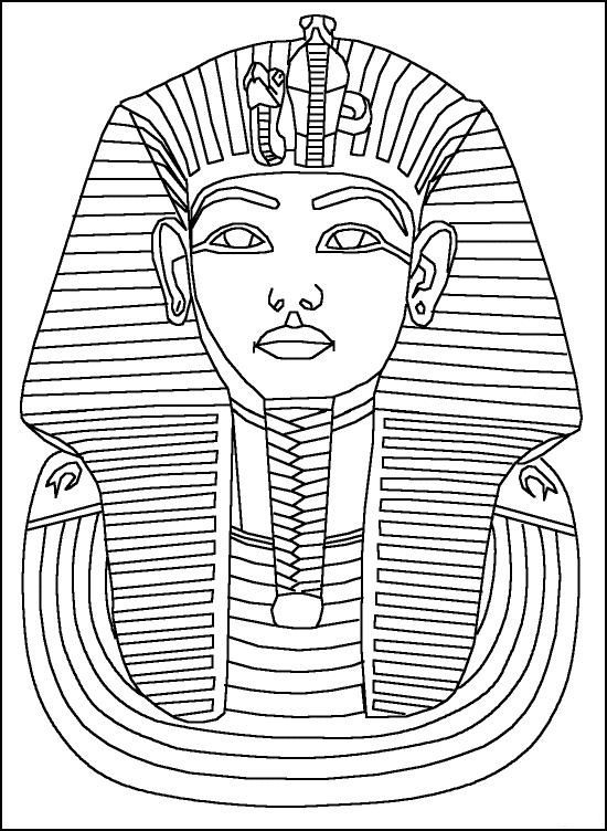 550x752 Free Egyptian Coloring Pages Free Printable Ancient Egypt Coloring