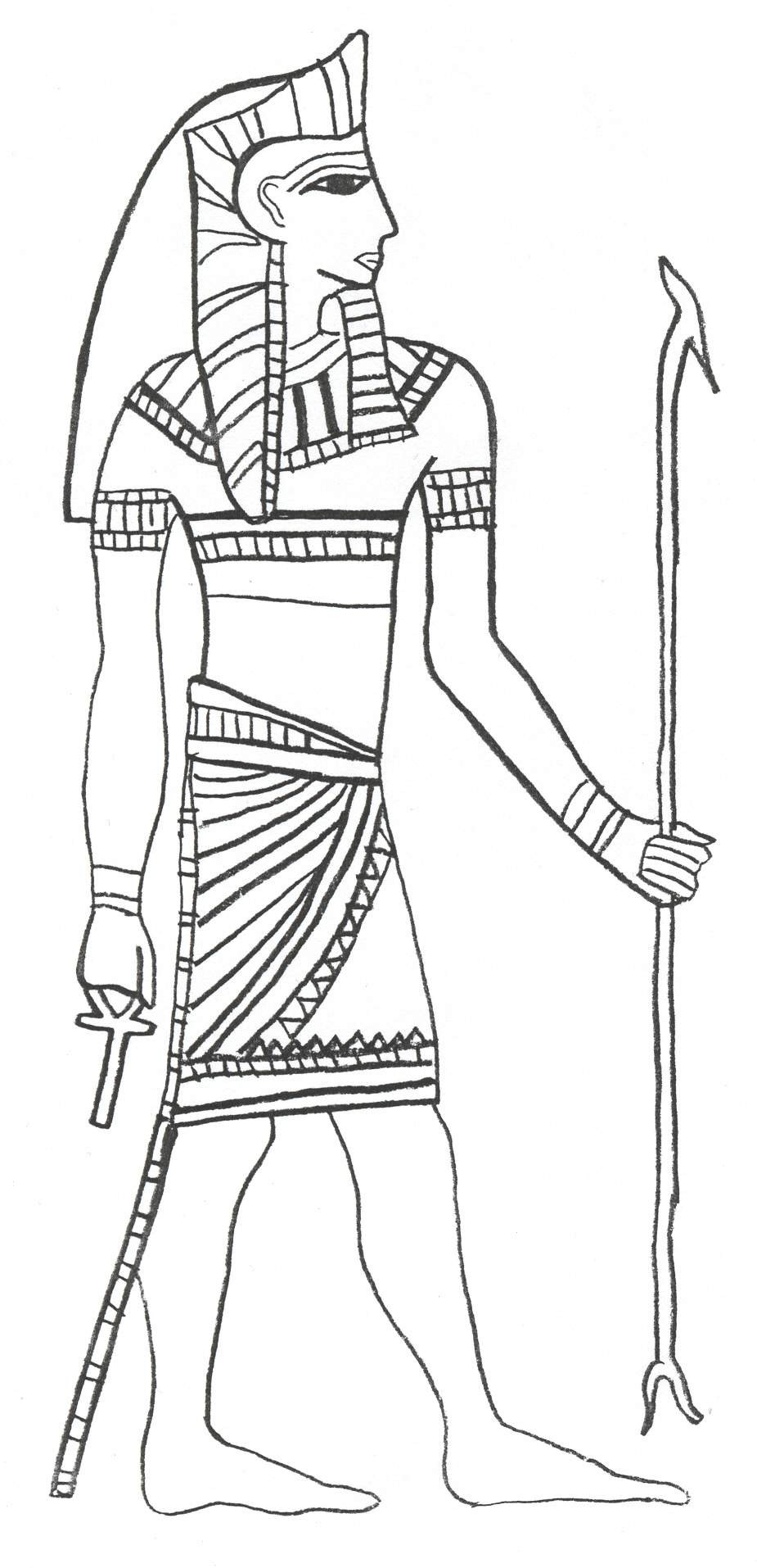 925x1914 Gods And Goddesses Of Ancient Egypt Coloring Pages Tearing