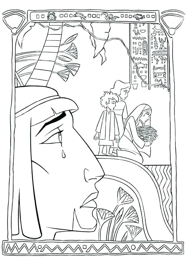 600x827 Ancient Egypt Coloring Pages