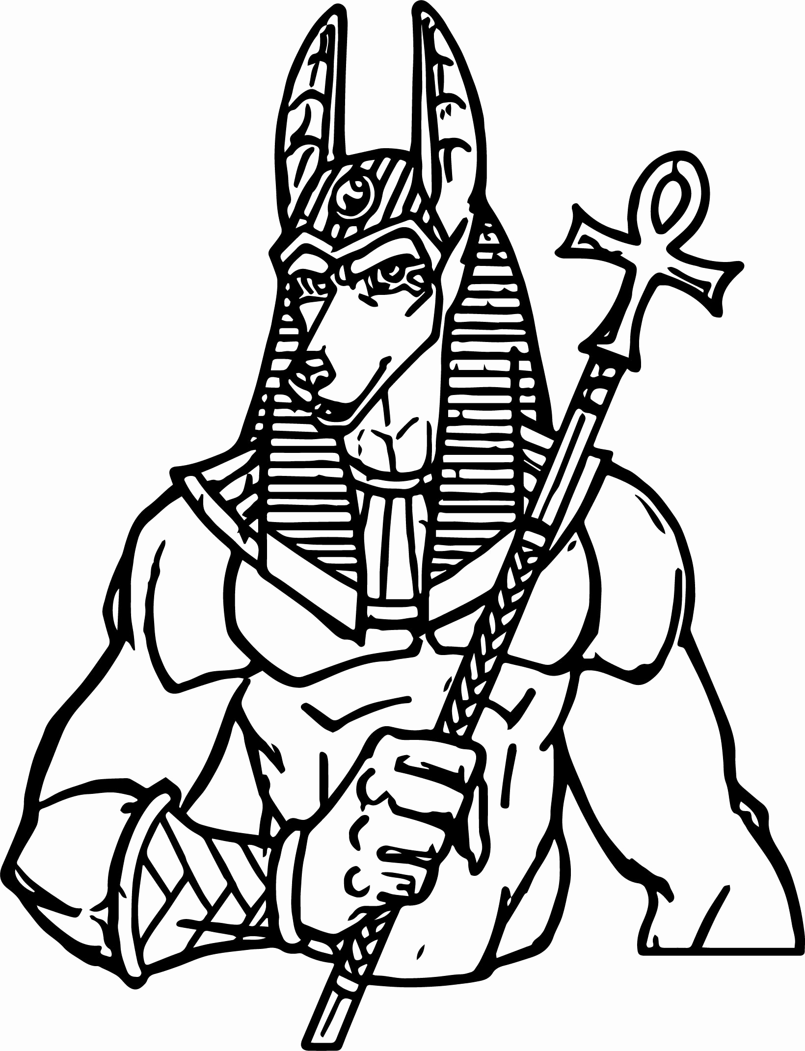 1640x2142 Ancient Egypt Coloring Pages Pictures Gods Ancient Egypt Anubis