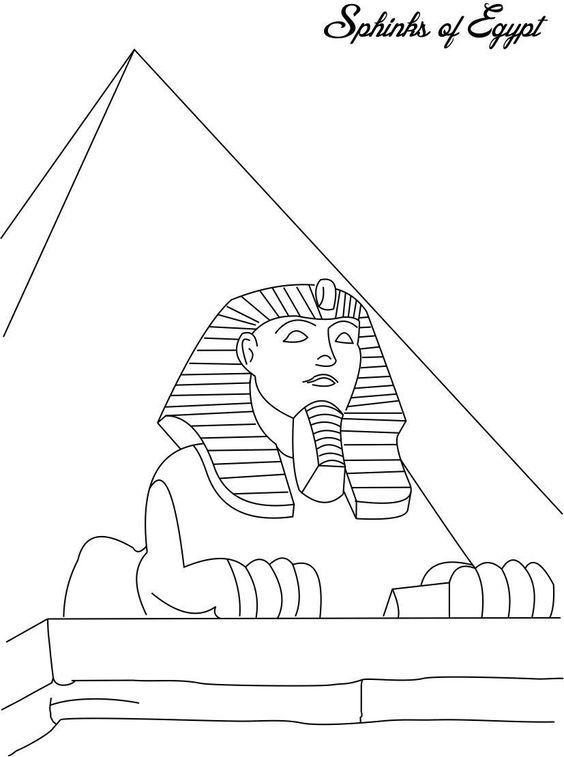 564x757 Ancient Egypt Coloring Pages To Download And Print For Free