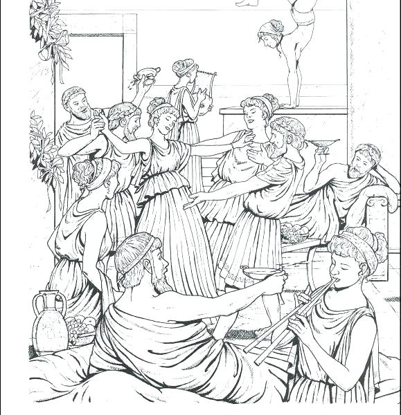 579x600 Ancient Greece Coloring Pages Ancient Coloring Pages Good Ancient