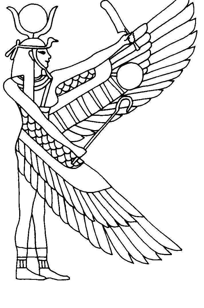 Ancient History Coloring Pages