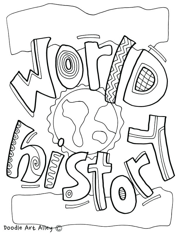 618x800 History Coloring Pages World History Coloring Page Art History