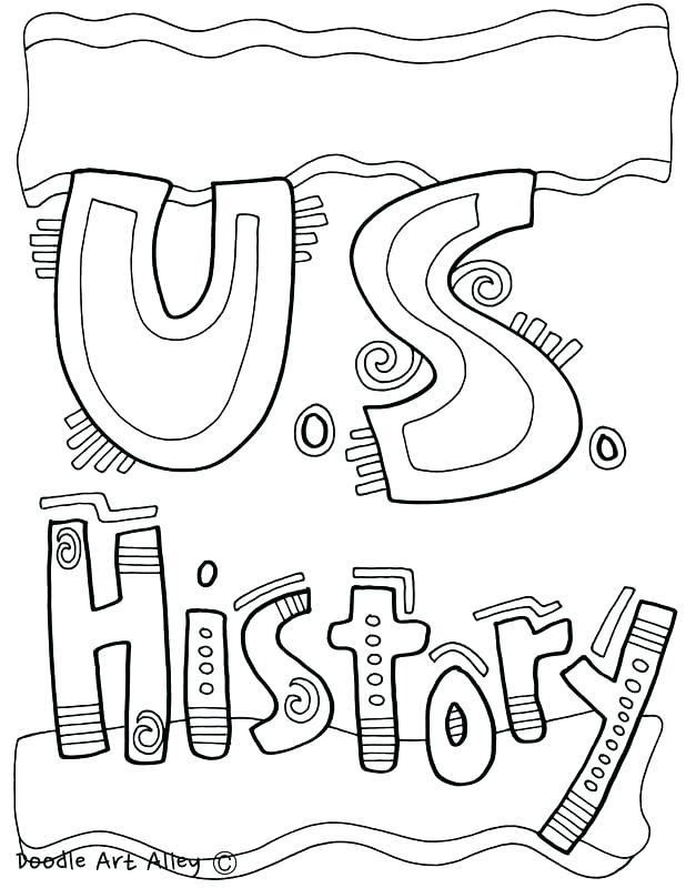 618x800 Us History Coloring Pages History Coloring Pages Classroom
