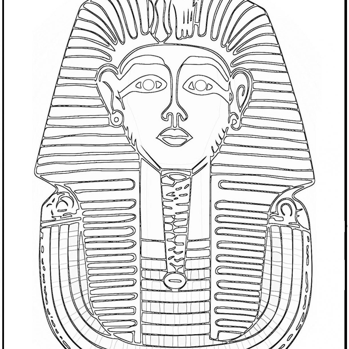 1224x1224 Coloring Pages Egypt Frightening Ancient Egyptianods Andoddesses