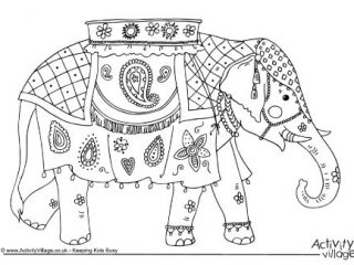 320x240 India Coloring Page India Coloring Pages Printable