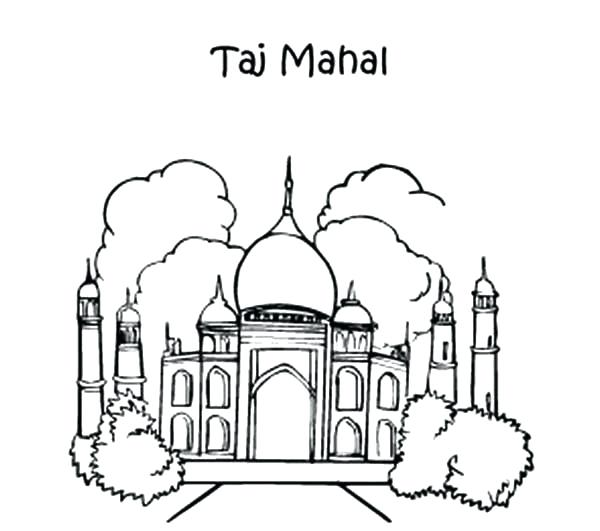 600x531 India Coloring Pages Ancient Coloring Pages Batch Free