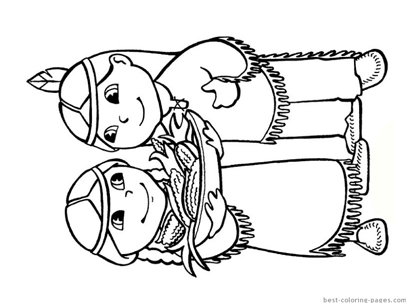 800x600 Indian Coloring Page Great Indian Coloring Pages About Remodel