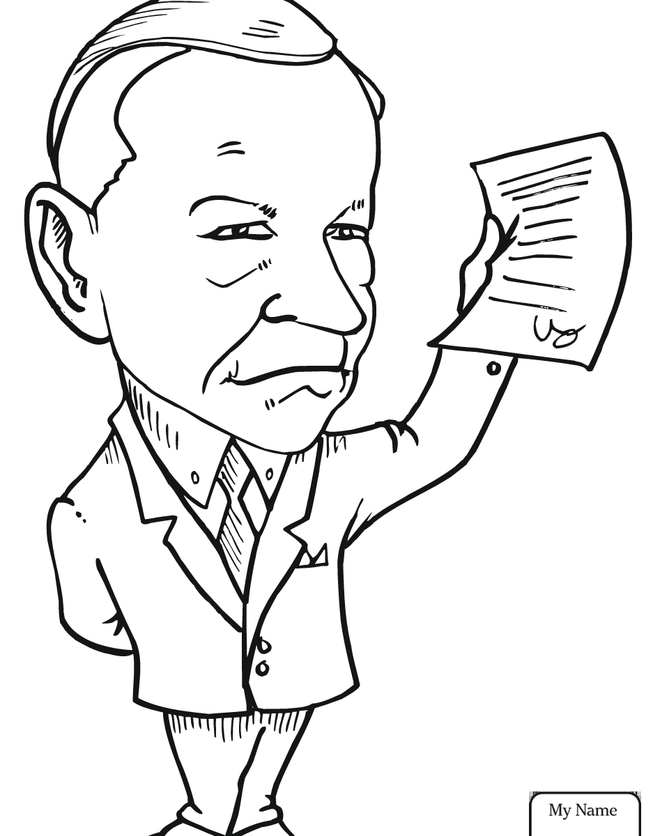 937x1200 Marvelous Dwight Eisenhower Coloring Pages For Kids Countries
