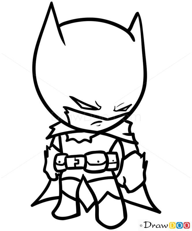 665x801 Drawing Of Batman