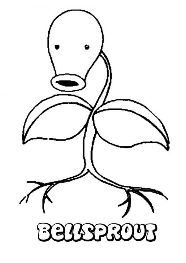 601x850 Grass Pokemon Coloring Pages