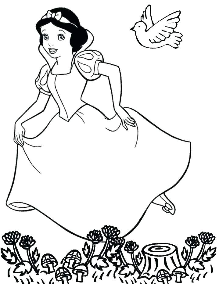 718x931 People Coloring Pages
