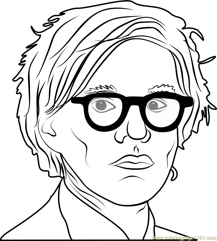 720x800 Andy Warhol Coloring Pages Andy Warhol Coloring Pages Free
