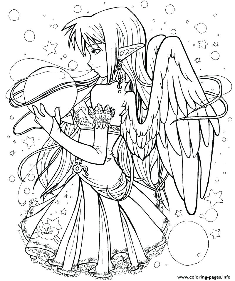 800x954 Angel Colouring Pages Printable Dark Angel Coloring Pages Anime
