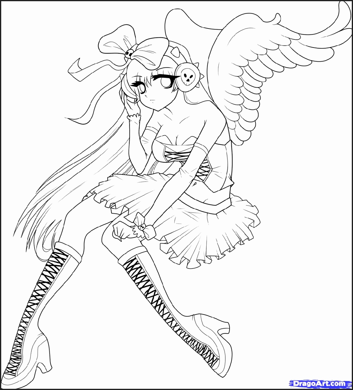 1172x1295 Excepcional Coloring Pages Of Beautiful Angels