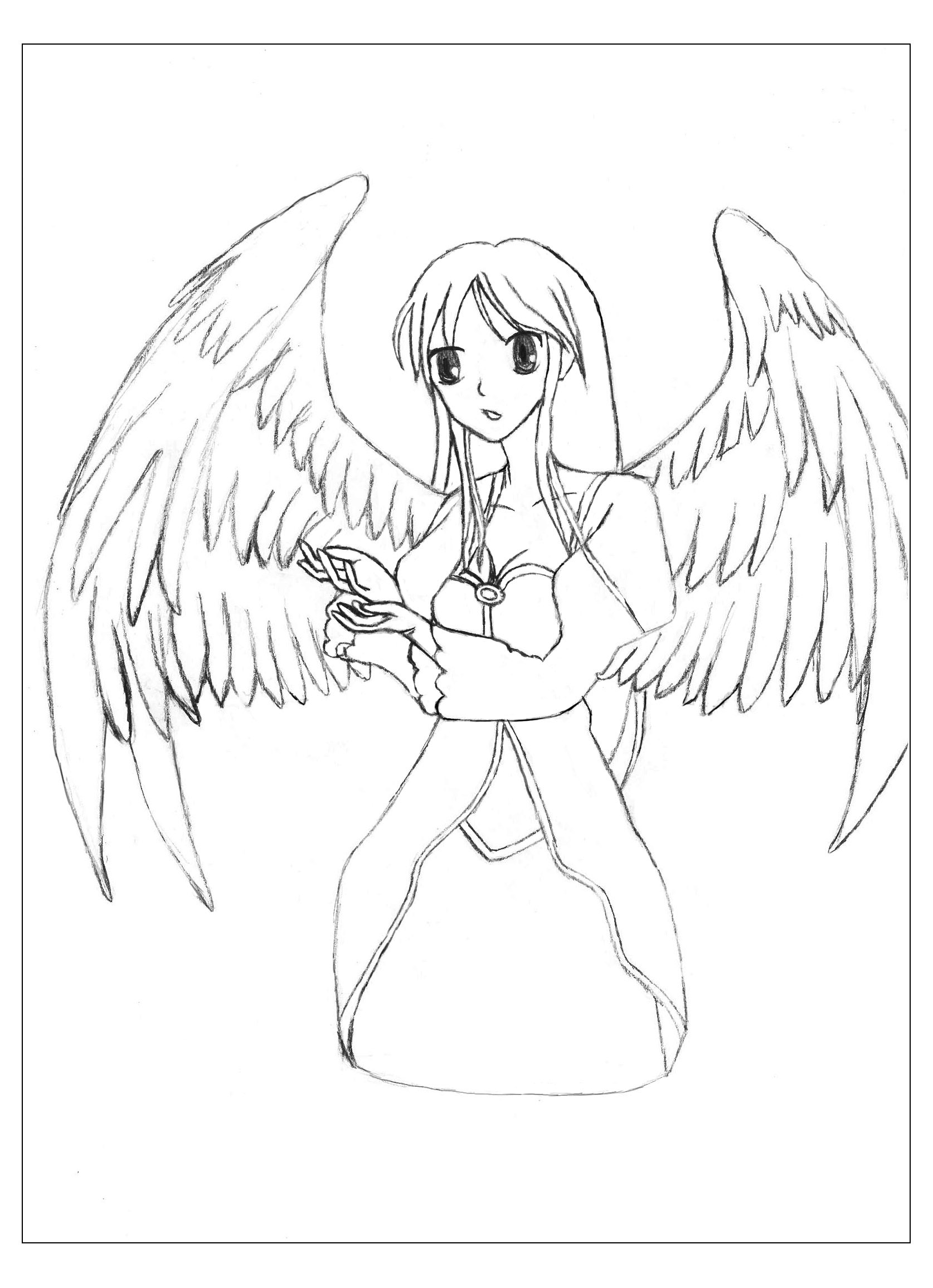 1674x2310 Manga Angel