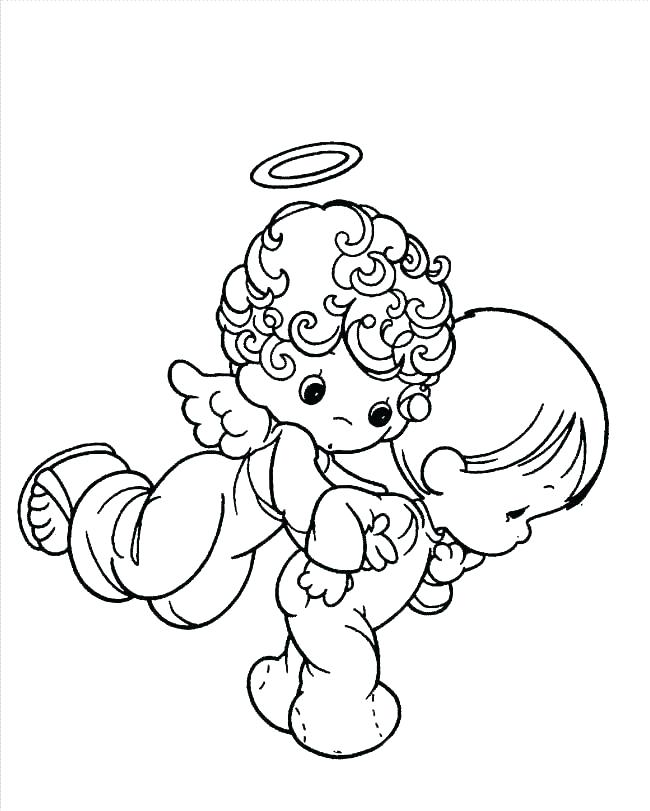 650x811 Coloring Pages Of Angels Coloring Page Angel Coloring Page Angel