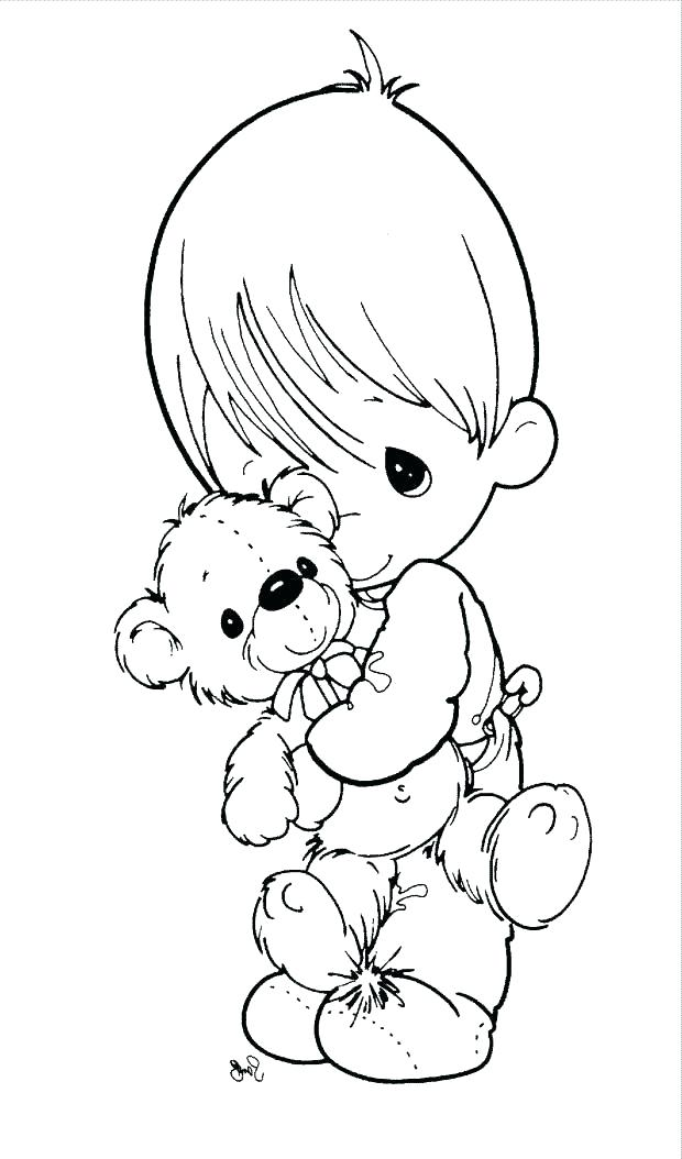 620x1054 Precious Moments Angel Coloring Pages Precious Moments Baby