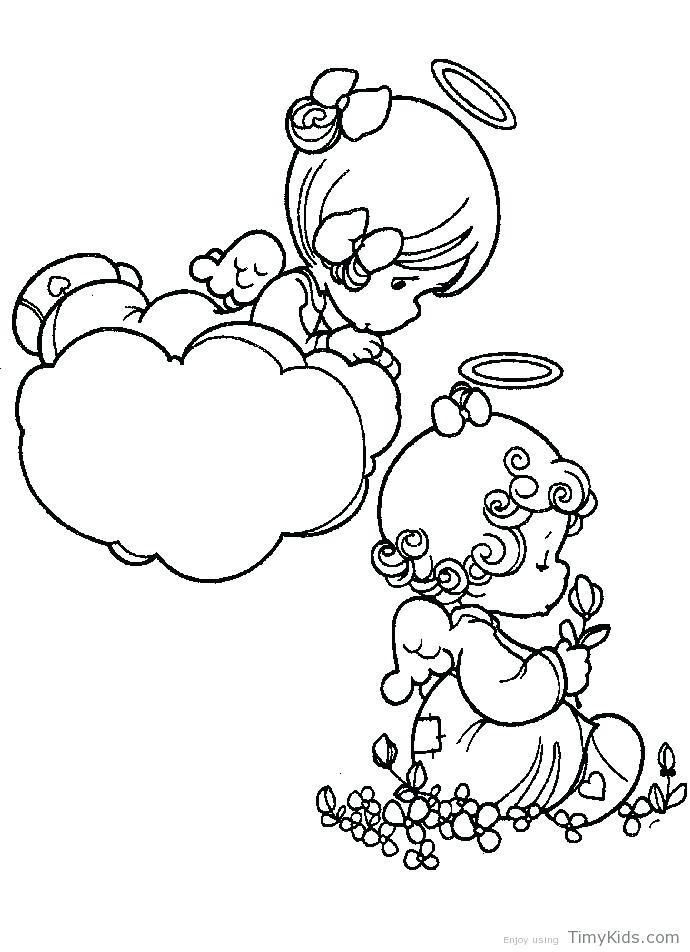 690x952 Precious Moments Angels Coloring Pages Baby Boy Coloring Pages