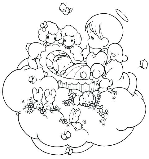 481x512 Angels Coloring Pages Also Free Guardian Angel Coloring Pages
