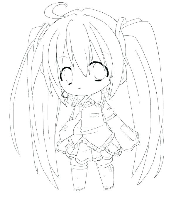 600x673 Coloring Pages Anime Anime Cat Coloring Pages Anime Girl Coloring