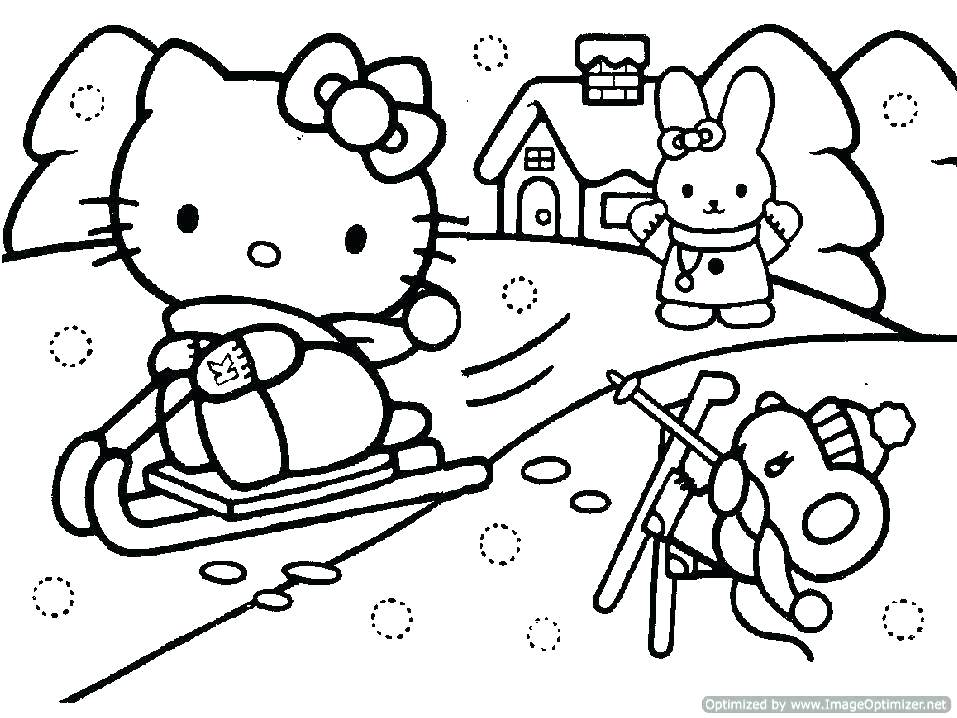 957x718 Lisa Frank Angel Kitty Coloring Pages Cat Printable Simple Hello