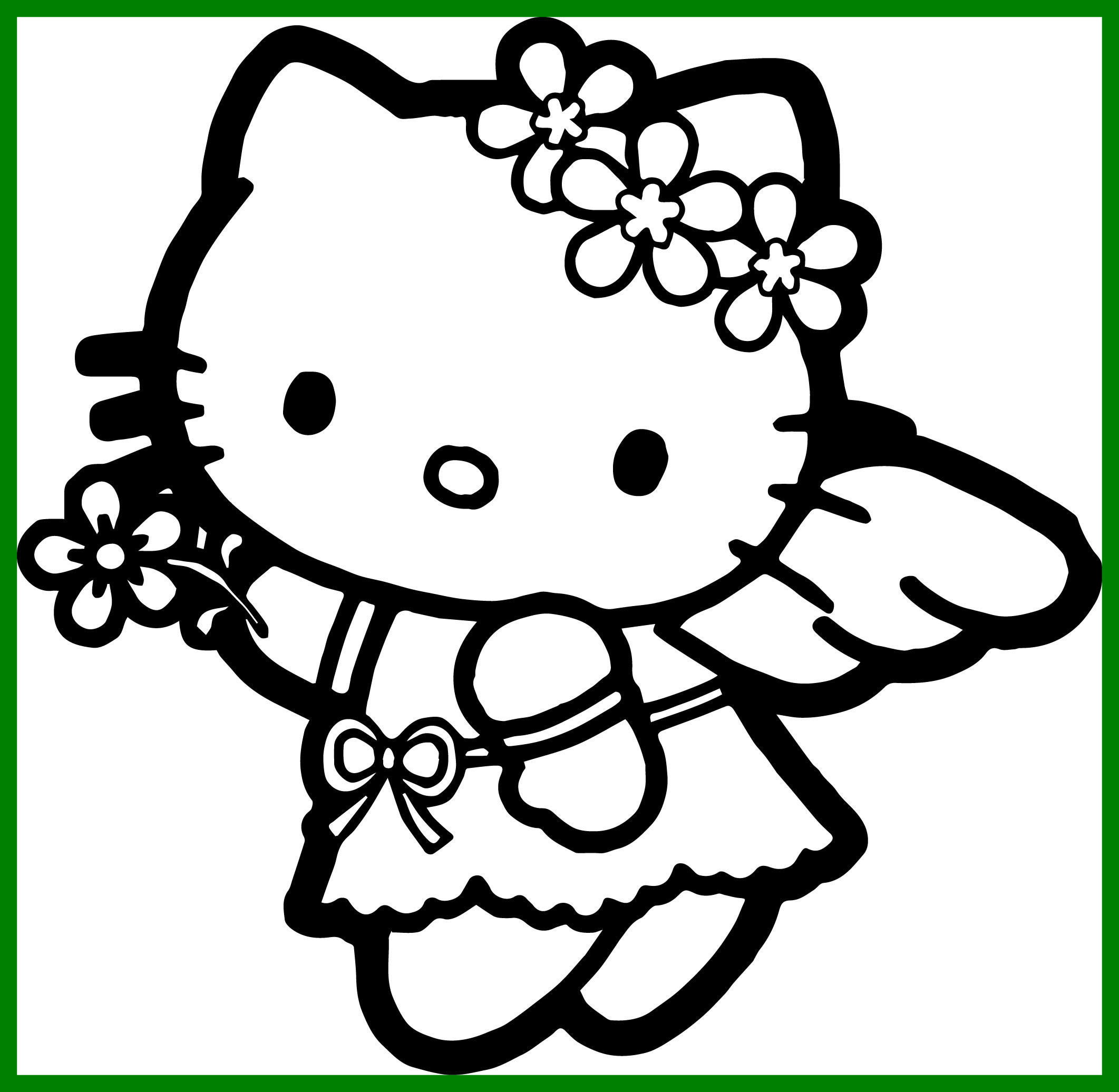 2123x2072 Appealing Kitty Coloring Page Best Of Hello Christmas For Angel