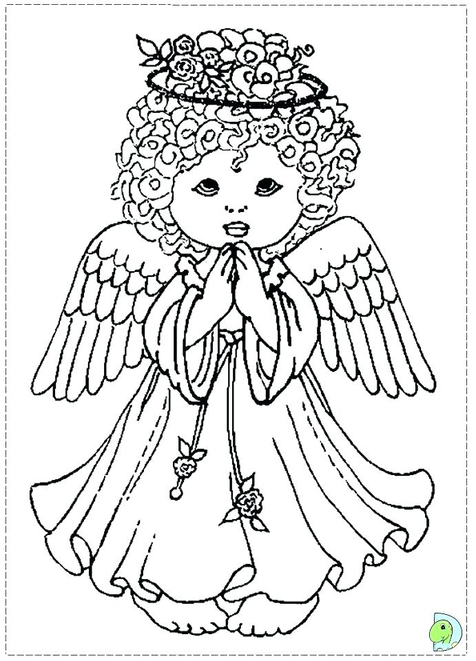 691x960 Angel Coloring Pages Coloring Angel Angel Coloring Pages For Girls