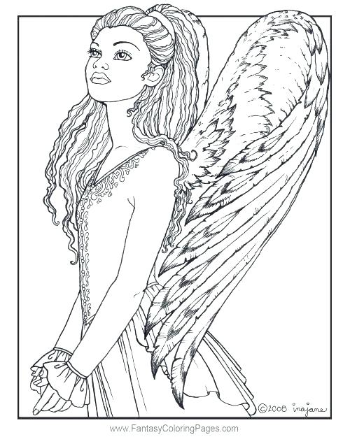 500x625 Angel Coloring Pages Angel Coloring Page Angel Coloring Pages