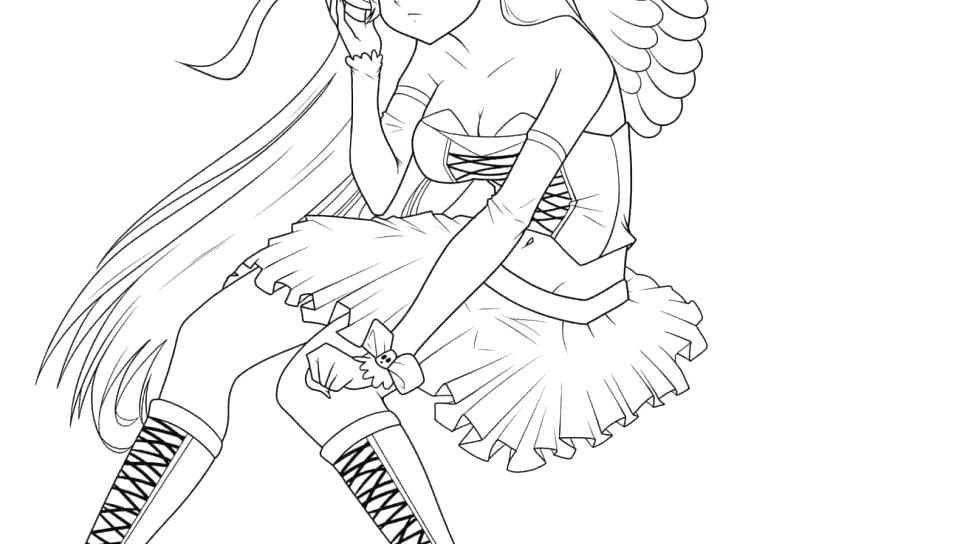960x544 Anime Coloring Pages For Adults As Stunning Cool Coloring Pages