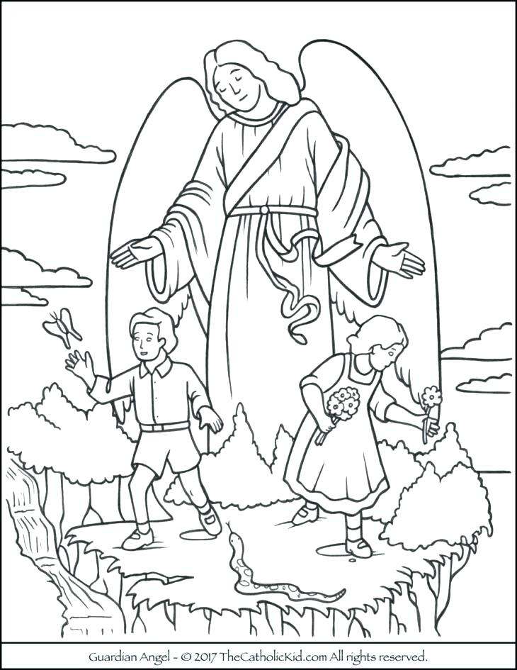 730x945 Angel Coloring Page Ash Coloring Pages Guardian Angel Coloring