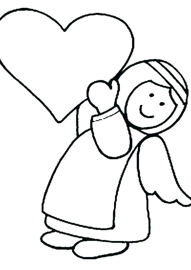 618x875 Angel Colouring Pages Printable Angel Coloring Pages Free Angel