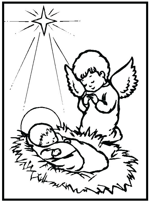 575x770 Angel Coloring Pages For Preschool Free Coloring Pages Preschool