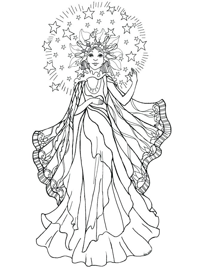 670x900 Angel Coloring Pages Surprise Pictures Of Angels To Color Coloring