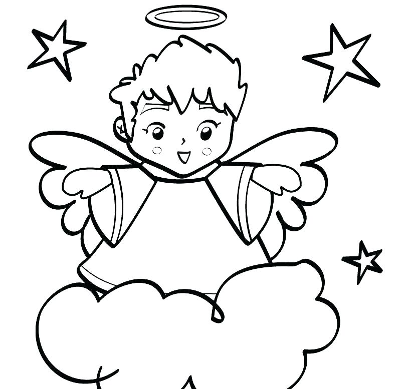 820x777 Angels Coloring Pages Angel Coloring S For Girls Colouring Funny