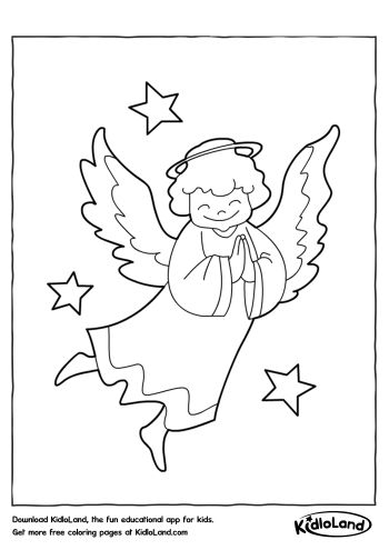 350x495 Christmas Coloring Pages Free Printables For Your Kids